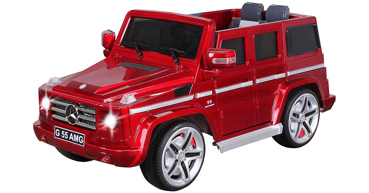 Kinder Elektroauto Mercedes AMG G55 Lizenziert rot