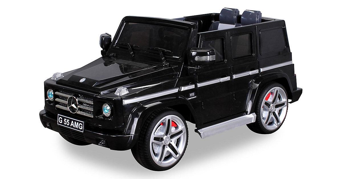 Kinder Elektroauto Mercedes AMG G55 Lizenziert schwarz