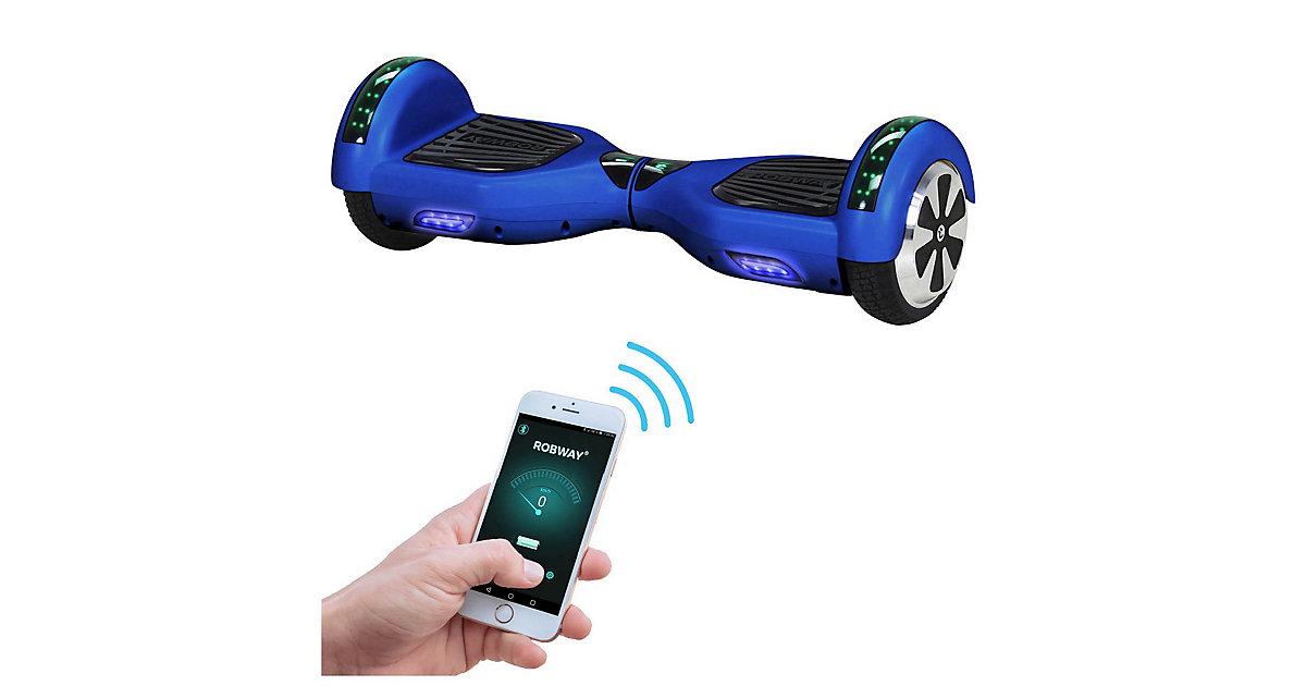 Kinder Elektrofahrzeuge E-Balance Hoverboard ROBWAY W1 blau