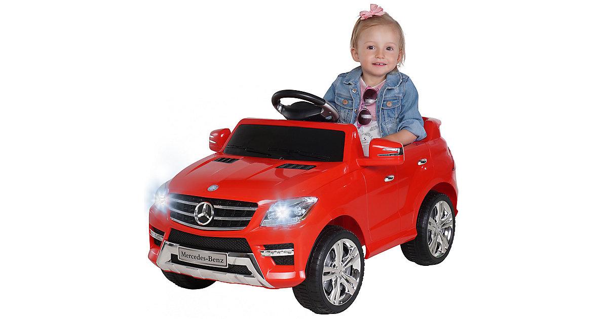 Kinder Elektroauto Mercedes-Benz ML350 Lizenziert rot
