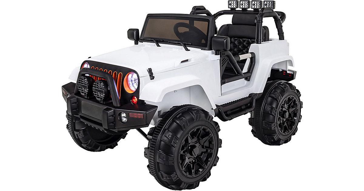 Kinder Elektroauto Offroad Jeep Adventure weiß
