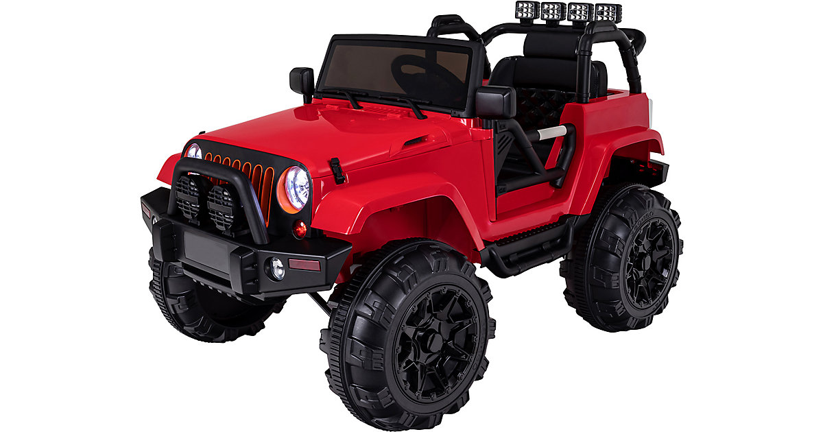 Kinder Elektroauto Offroad Jeep Adventure rot