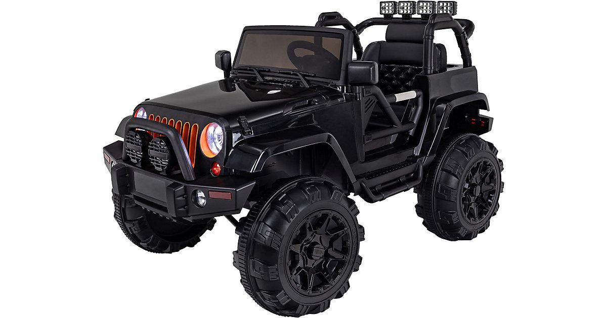 Kinder Elektroauto Offroad Jeep Adventure schwarz