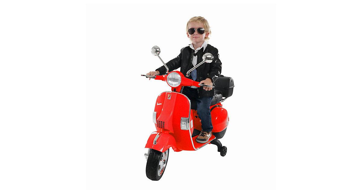 Kinder Elektroroller Vespa PX150 Lizenziert rot