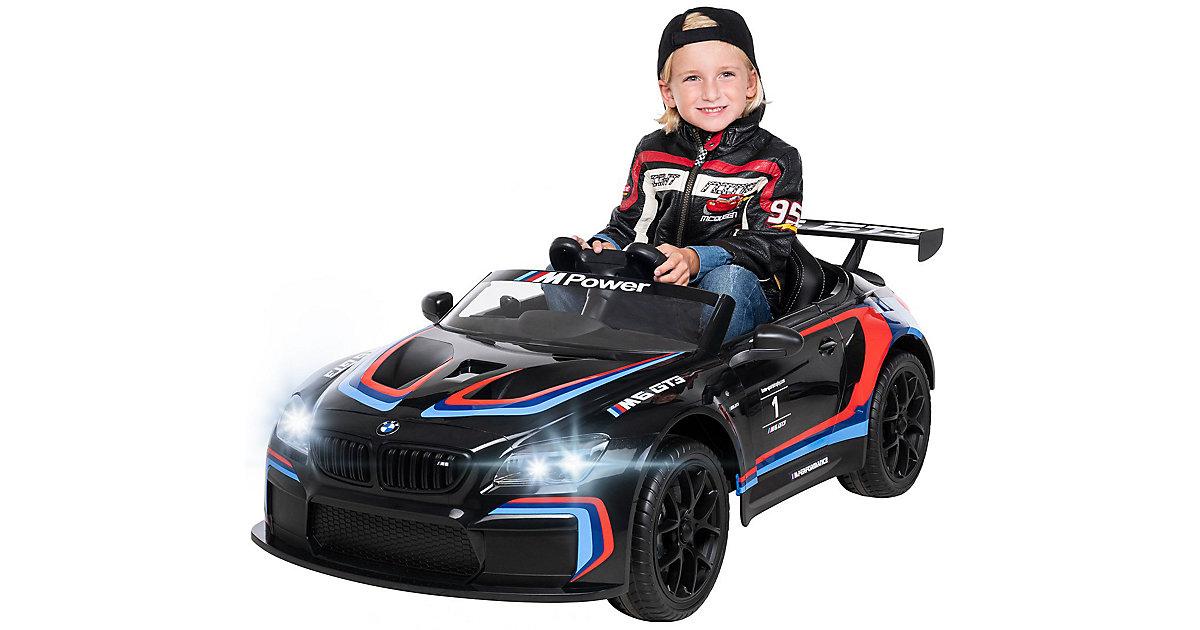 Kinder Elektroauto BMW M6 GT3 Lizenziert schwarz
