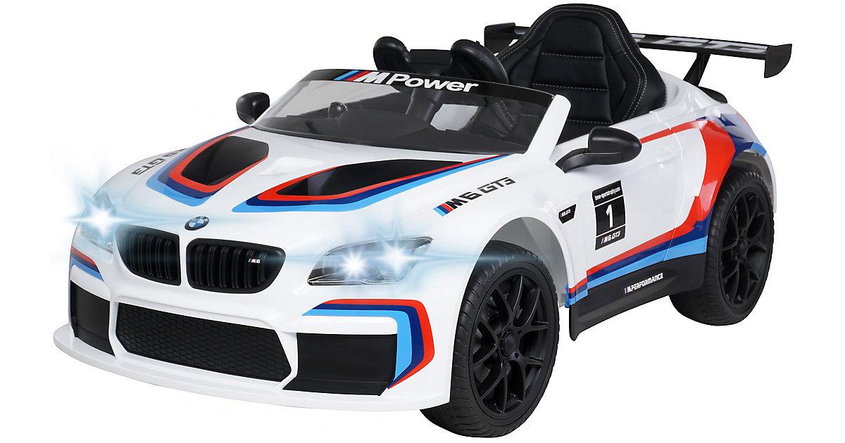 Kinder Elektroauto BMW M6 GT3 Lizenziert weiß