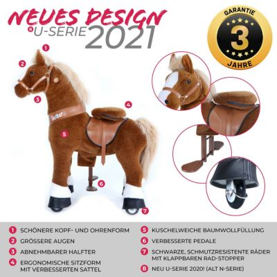 Pony Cycle Ponycycle Fairytale Premium Serie Medium, 90 cm