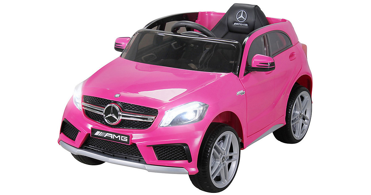 Kinder Elektroauto Mercedes AMG A45 Lizenziert pink