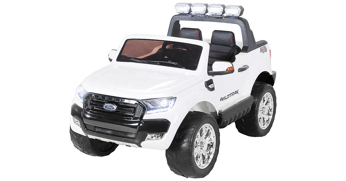 Kinder Elektroauto Ford Ranger Wildtrak Allrad Lizenziert weiß