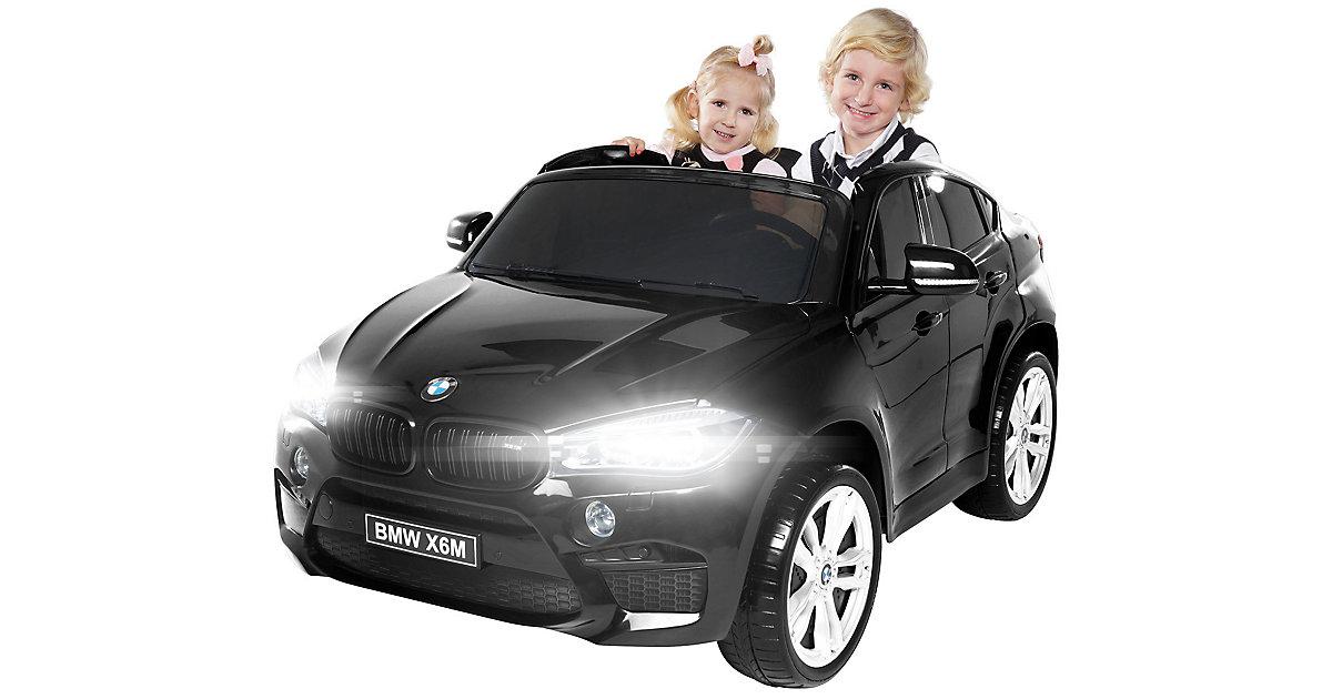 Kinder Elektroauto BMW X6M F16 XXL Lizenziert schwarz