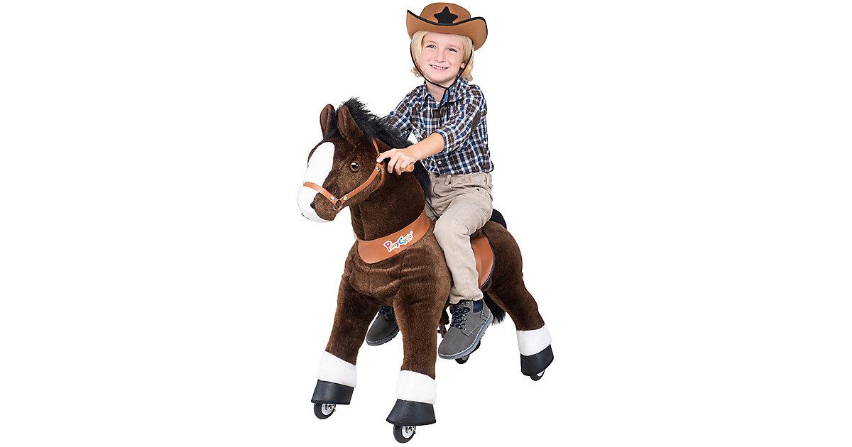 Kinder Reittiere  Mister Ed Pferd small braun
