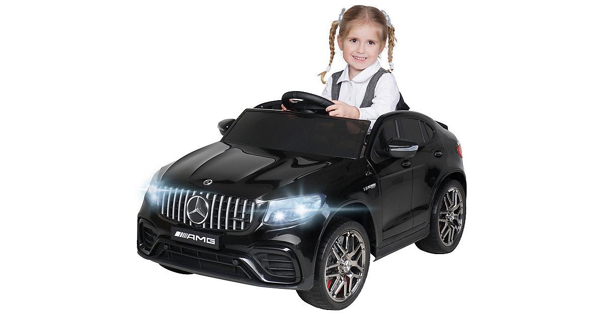 Kinder Elektroauto Mercedes AMG GLC 63S Coupe Lizenziert schwarz