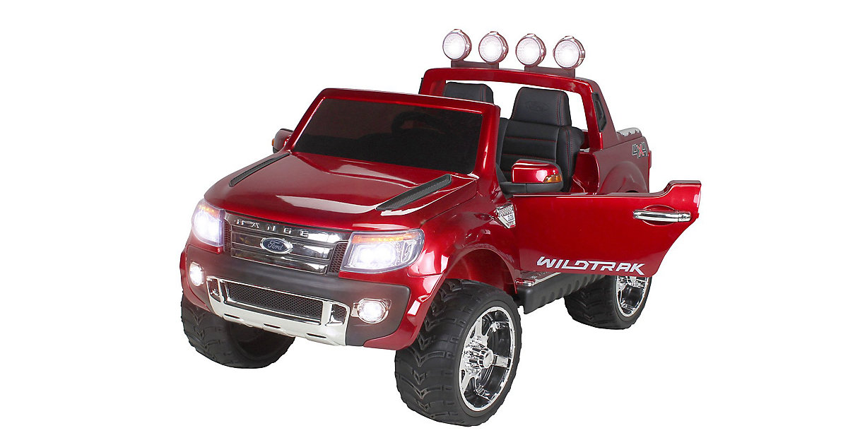 Kinder Elektroauto Ford Ranger Lizenziert weinrot