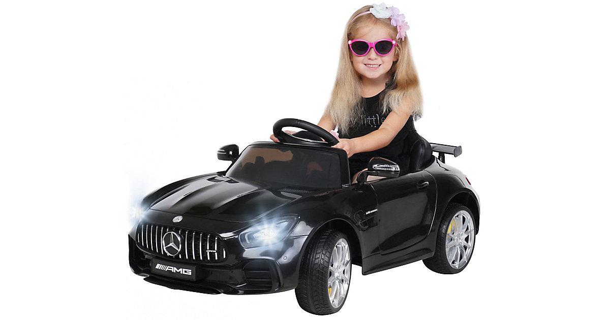 Kinder Elektroauto Mercedes AMG GT-R Lizenziert schwarz