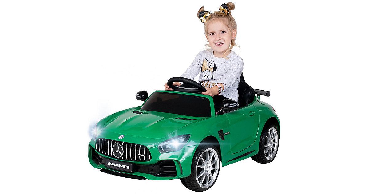 Kinder Elektroauto Mercedes AMG GT-R Lizenziert grün