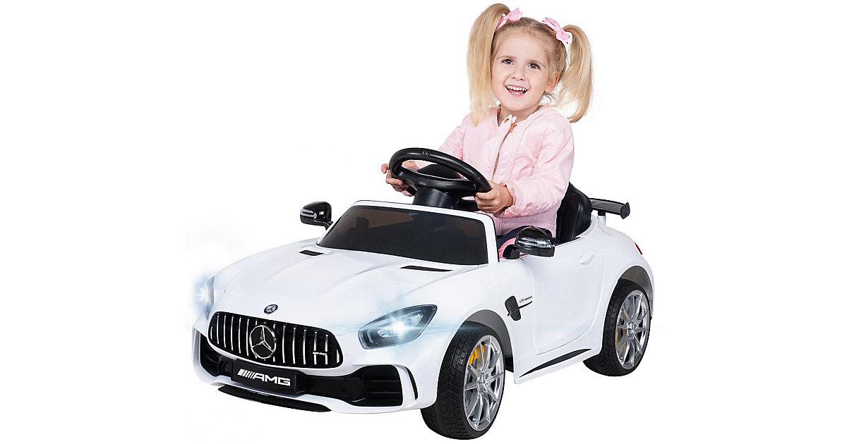 Kinder Elektroauto Mercedes AMG GT-R Lizenziert weiß