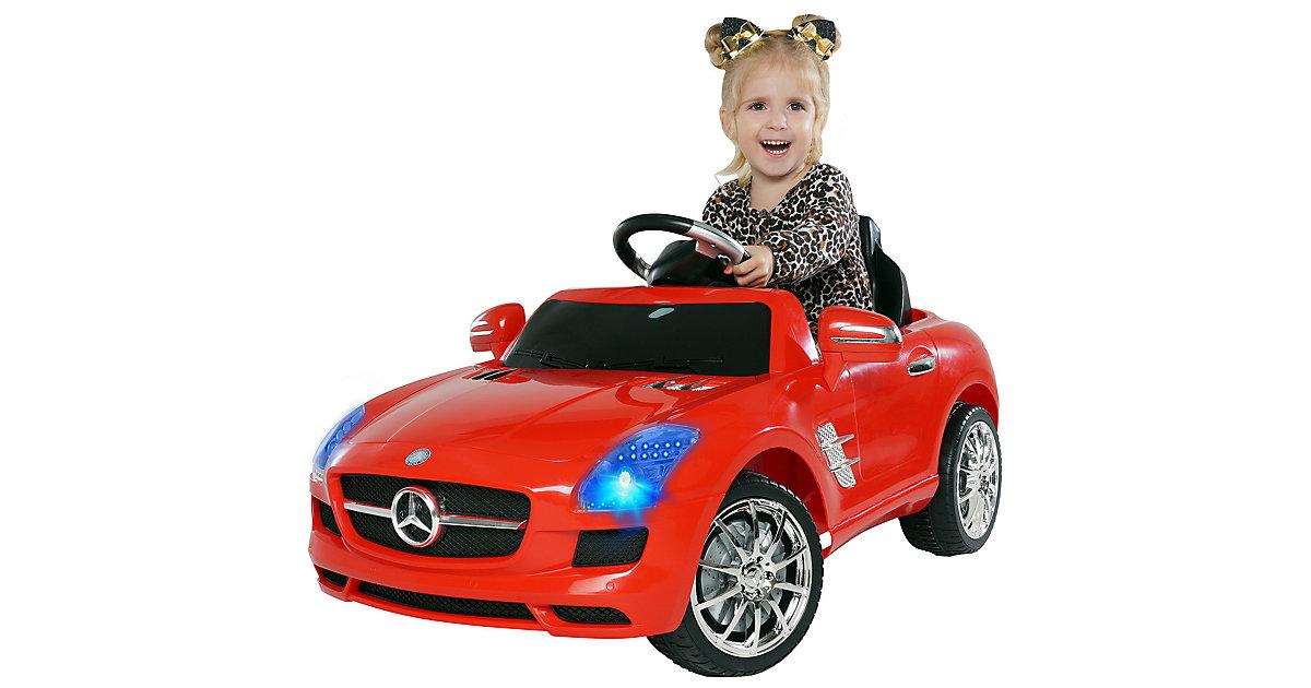 Kinder Elektroauto Mercedes AMG SLS Lizenziert schwarz