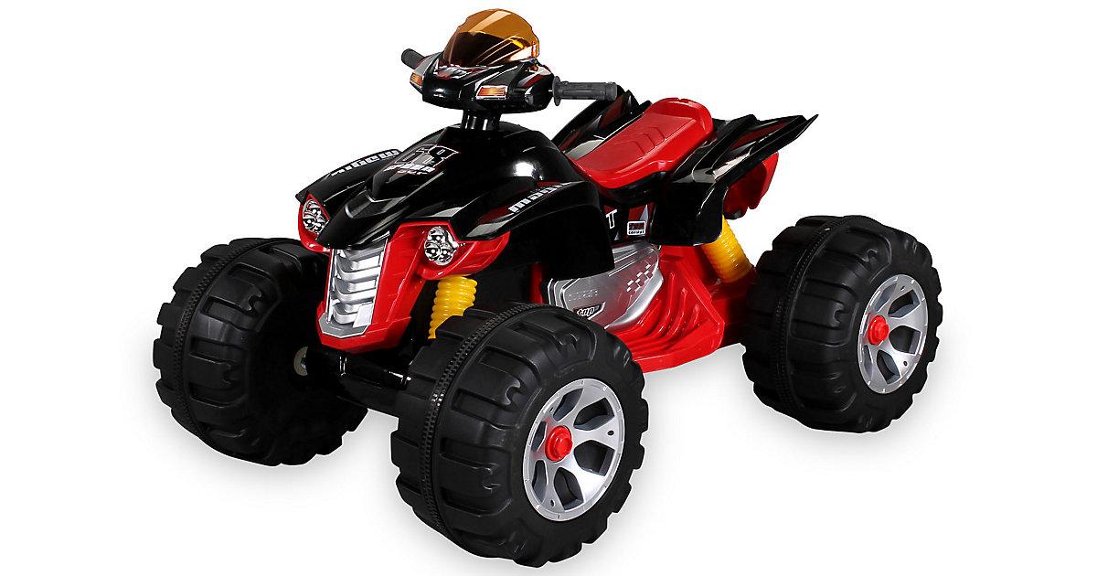 Kinder Elektroauto Quad Burst JS318 schwarz/rot