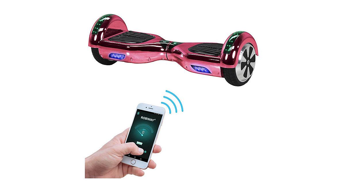 Kinder Elektrofahrzeuge E-Balance Hoverboard ROBWAY W1 pink