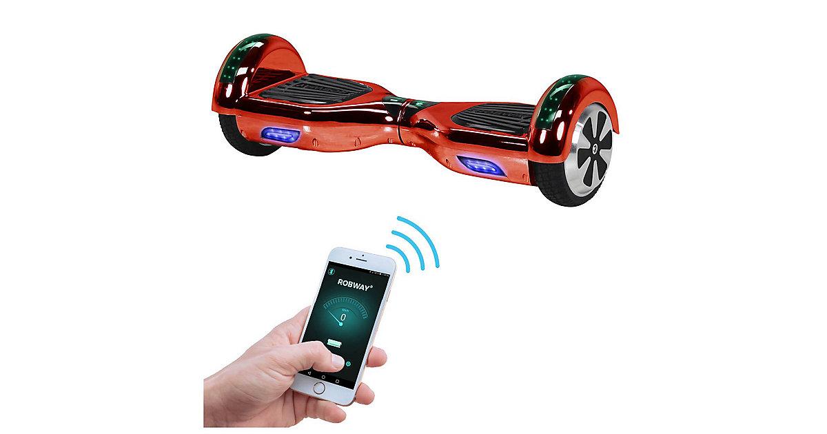 Kinder Elektrofahrzeuge E-Balance Hoverboard ROBWAY W1 rot