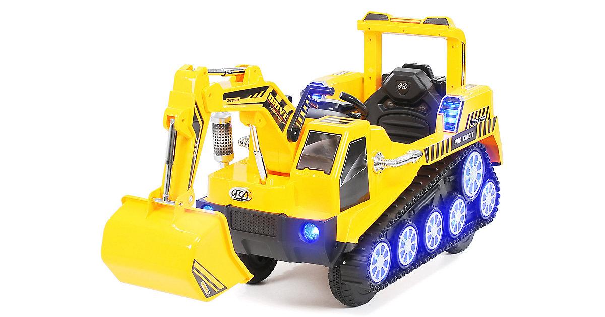 Kinder Elektrobagger D2811 gelb