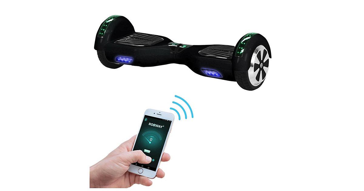 Kinder Elektrofahrzeuge E-Balance Hoverboard ROBWAY W1 schwarz
