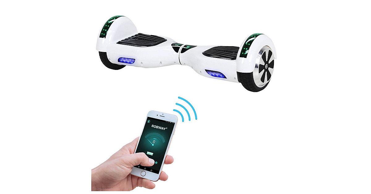 Kinder Elektrofahrzeuge E-Balance Hoverboard ROBWAY W1 weiß