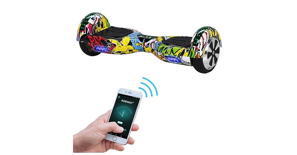 Kinder Elektrofahrzeuge E-Balance Hoverboard ROBWAY W1 gelb-kombi