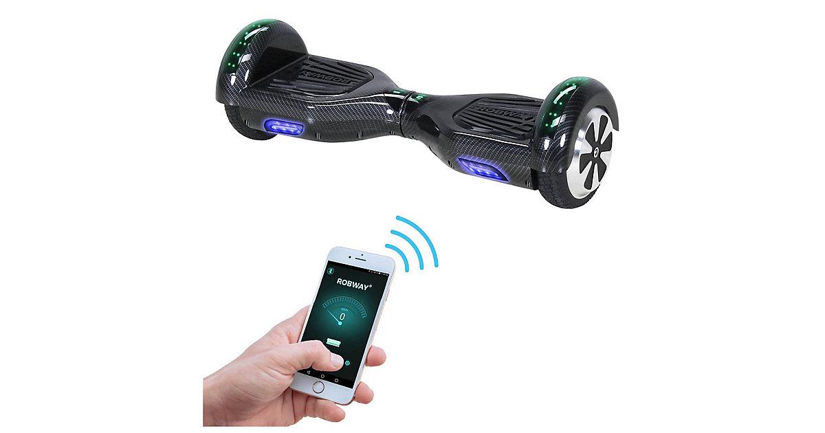 Kinder Elektrofahrzeuge E-Balance Hoverboard ROBWAY W1 grau-kombi