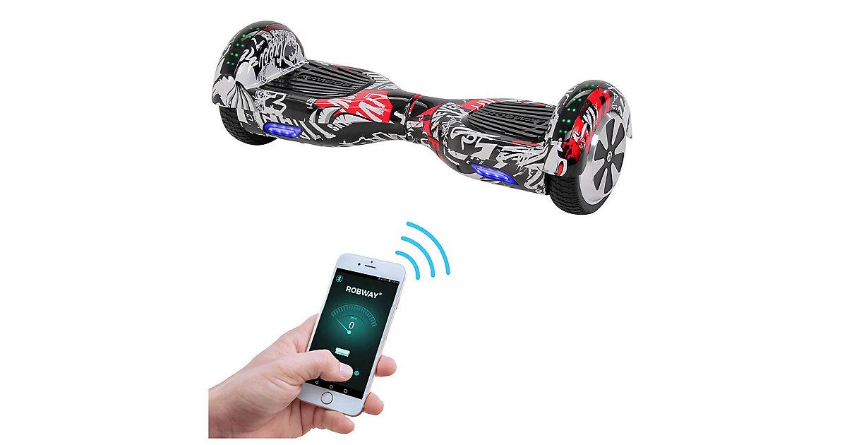 Kinder Elektrofahrzeuge E-Balance Hoverboard ROBWAY W1 schwarz-kombi