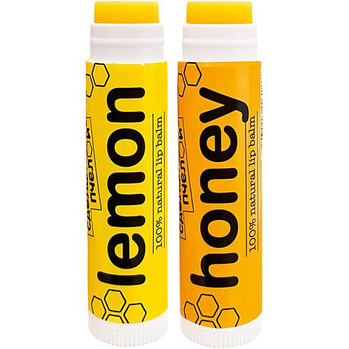 Бальзам для губ Сделано пчелой, с пчелиным воском Lemon & Honey, 8,5 г