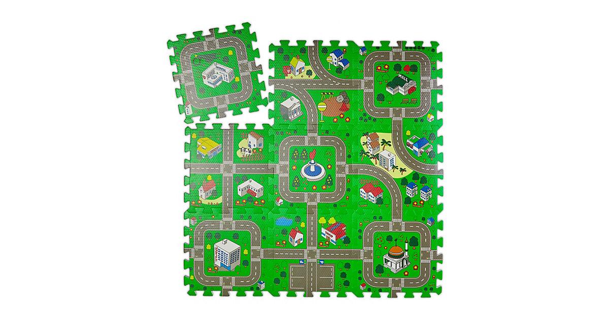 Puzzlematte Straße Kinder mehrfarbig  Kinder