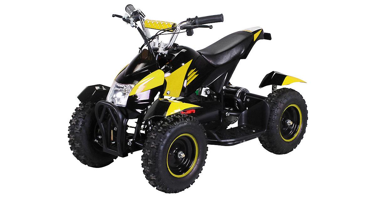 Kinder Elektroquad ATV Cobra schwarz/gelb