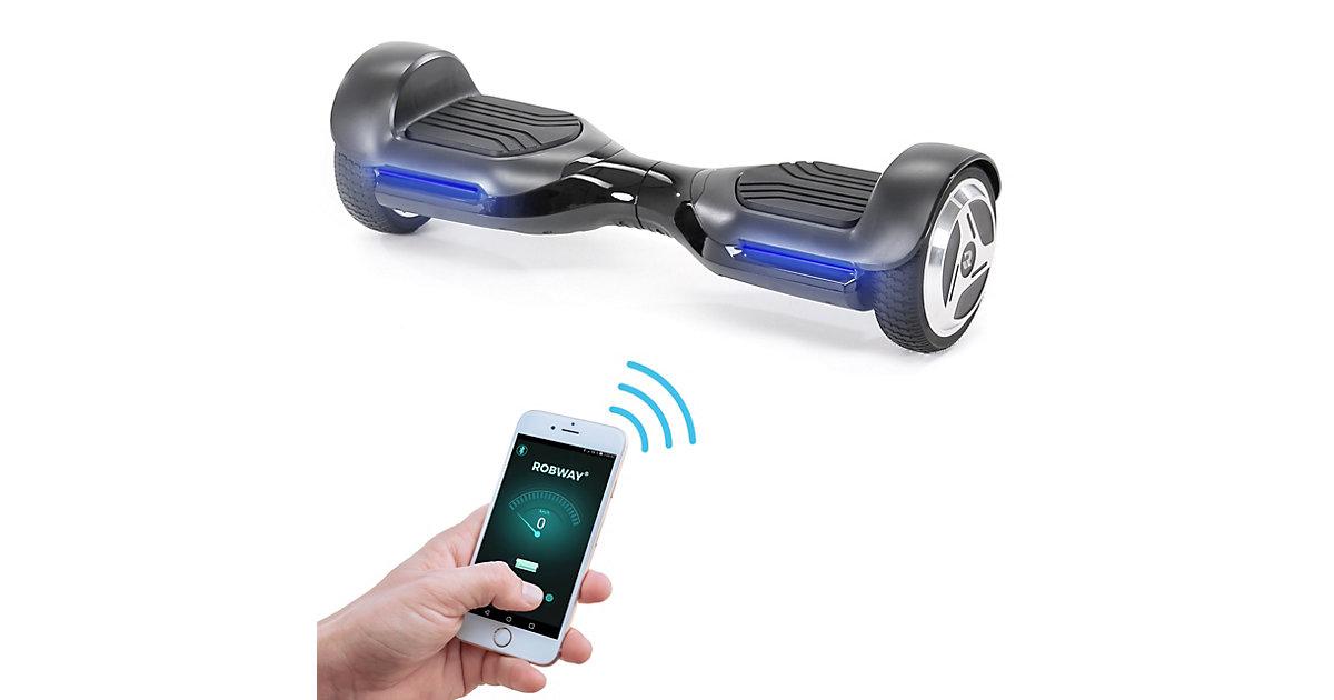 Kinder Elektrofahrzeuge E-Balance Hoverboard ROBWAY RG1 schwarz