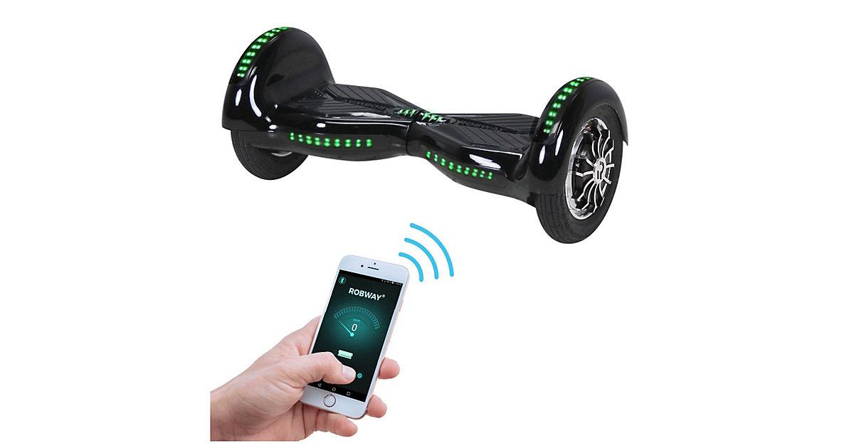 Kinder Elektrofahrzeuge E-Balance Hoverboard ROBWAY W3 schwarz
