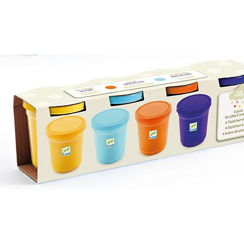 Набор пластилина Djeco, 4 цвета от DJECO