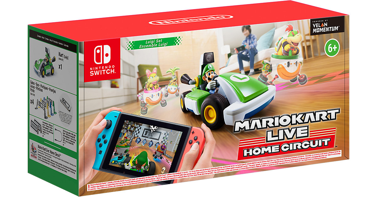Nintendo Switch Mario Kart Live: Home Circuit - Luigi