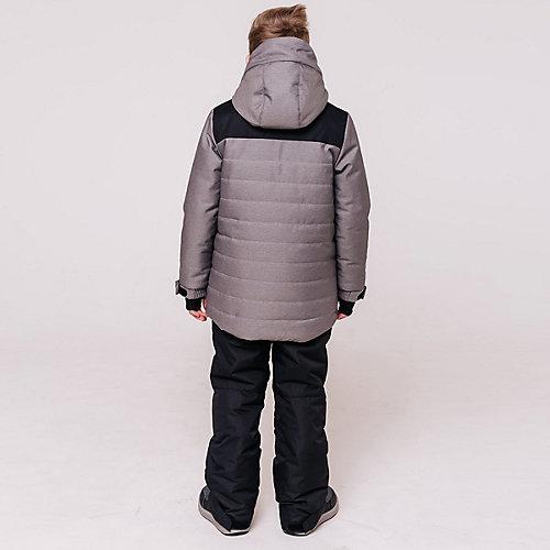 Комплект Батик: куртка и полукомбинезон - серый от Batik