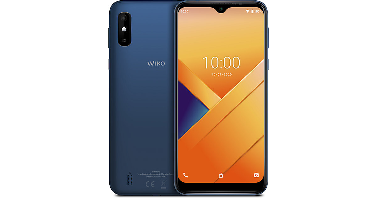Wiko Y81, blau