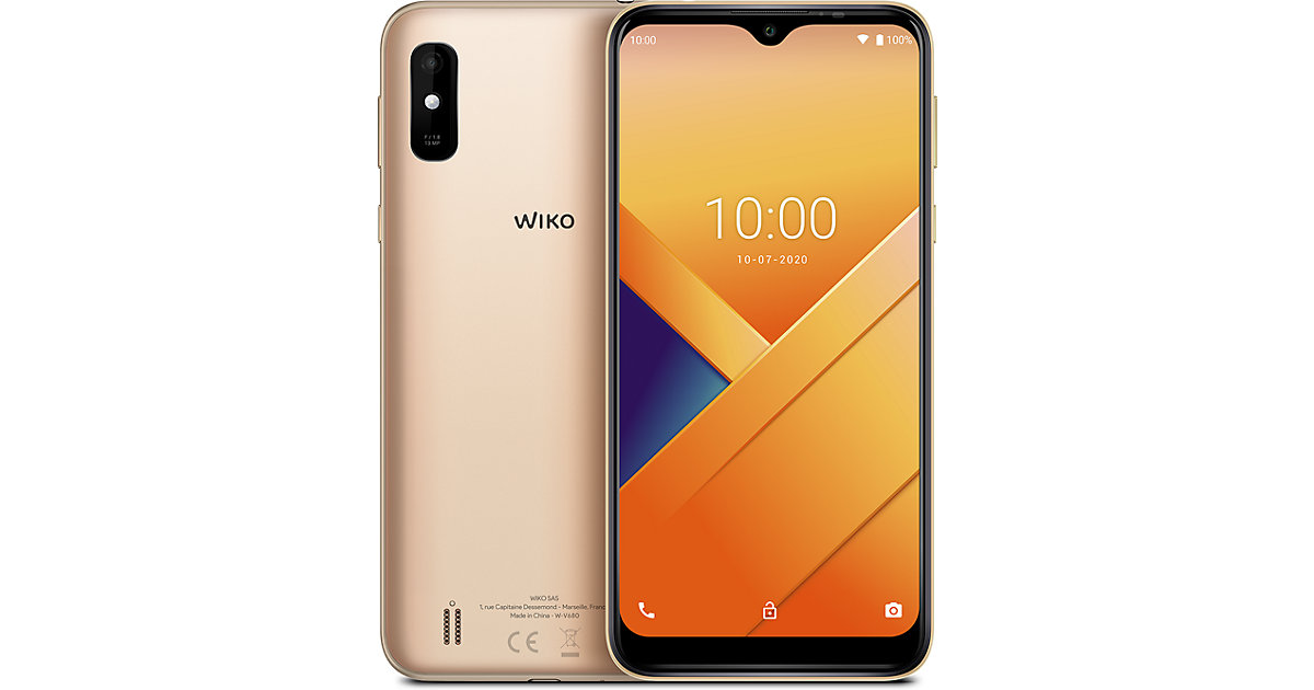 Wiko Y81, gold