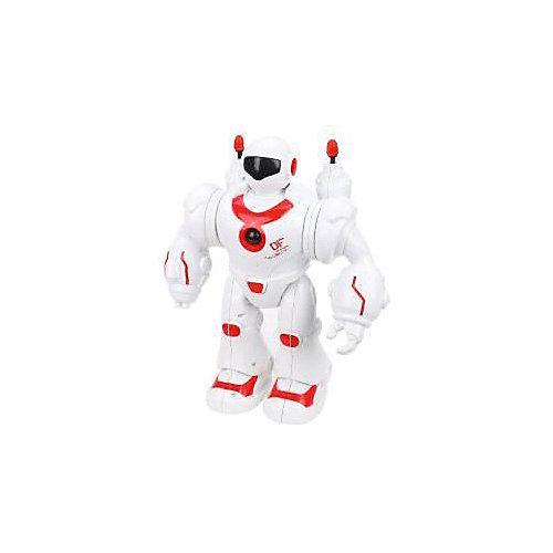 Робот электронный Наша Игрушка, свет, звук, стреляет ракетами от Наша Игрушка