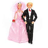 """Игровой набор кукол Defa """"Свадьба"""""""