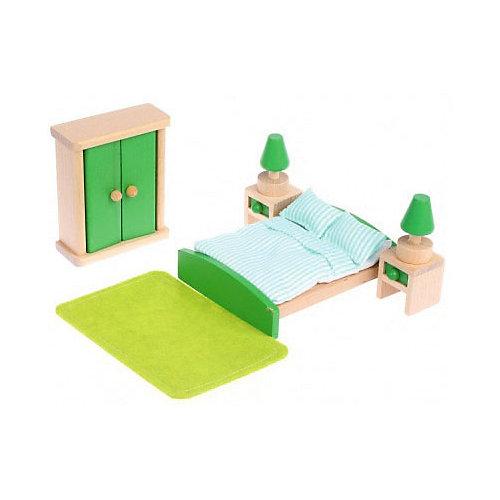 """Набор деревянной мебели Наша Игрушка """"Спальня"""", 10 предметов от Наша Игрушка"""