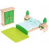 """Набор деревянной мебели Наша Игрушка """"Спальня"""", 10 предметов"""