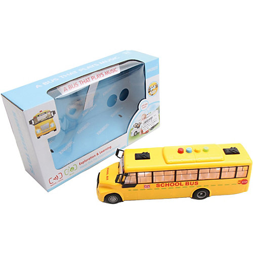 Школьный автобус Наша Игрушка, инерционный от Наша Игрушка