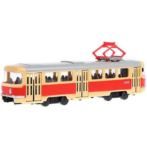 Трамвай инерционный Наша Игрушка, свет, звук, 1:54 от Наша Игрушка