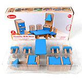 """Набор деревянной мебели Наша Игрушка """"Кухня"""", 7 предметов"""