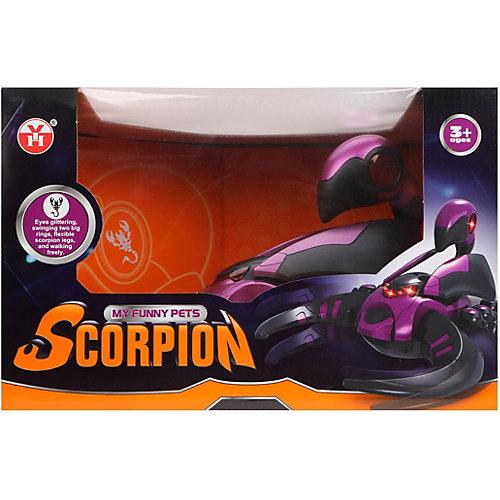 Интерактивный скорпион Наша Игрушка, свет, звук от Наша Игрушка