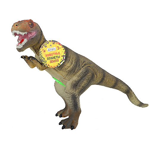 """Динозавр Компания друзей """"Животные планеты Земля"""", с чипом от Компания Друзей"""