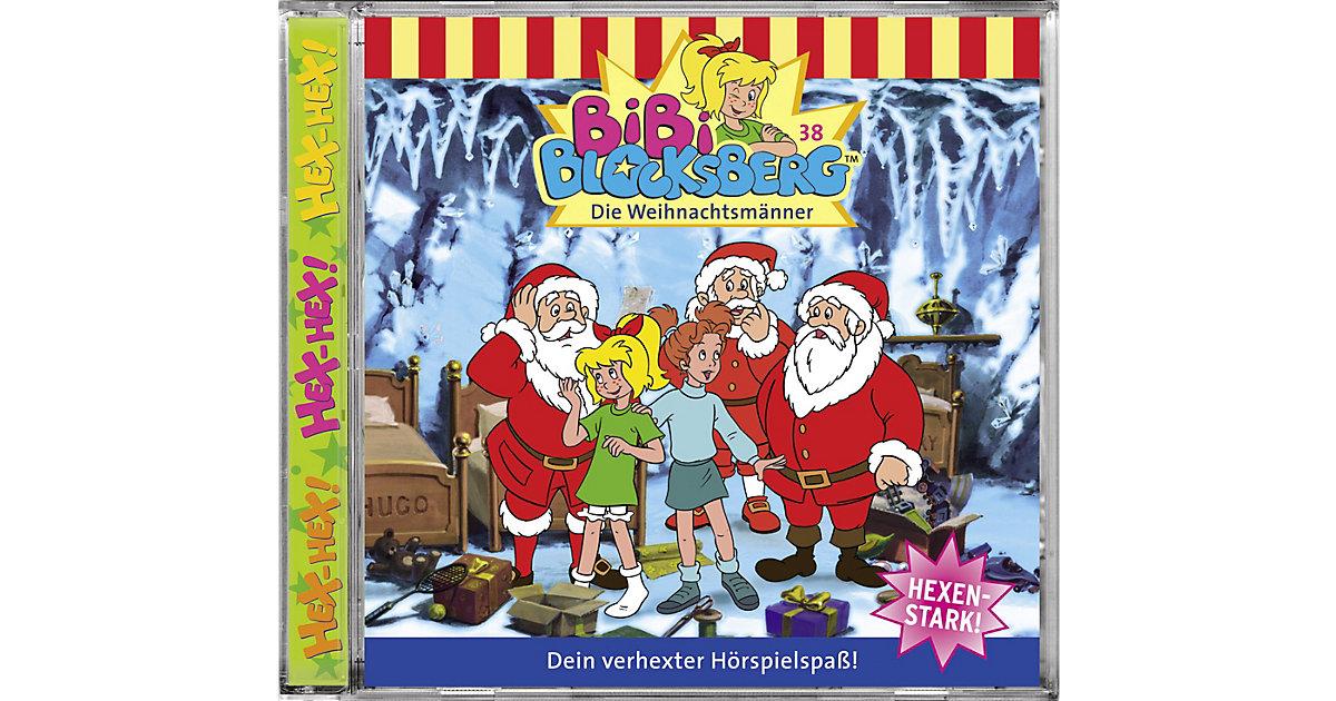 CD Bibi Blocksberg 38 (Weihnachtsmänner) Hörbuch